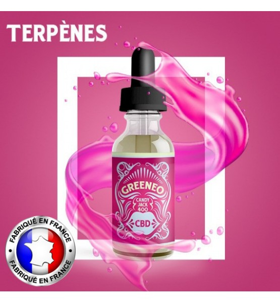 Greeneo E-liquide CBD Candy Jack - 10ml