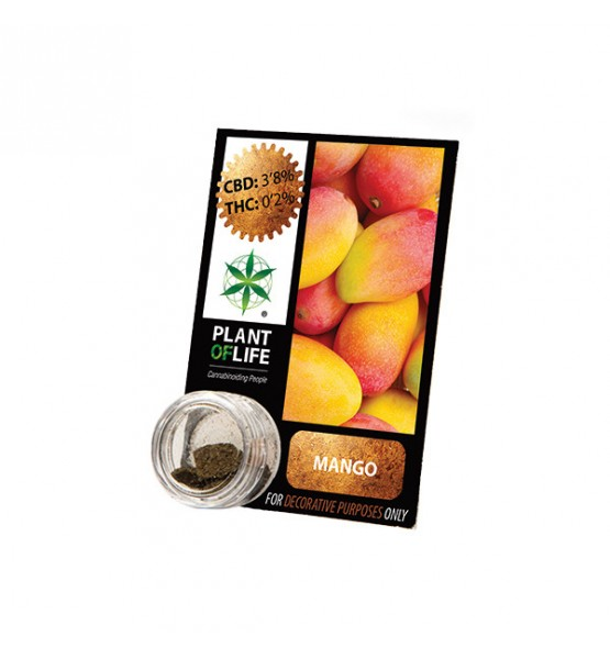 CBD resin MANGO FRUIT 3,8% 1G