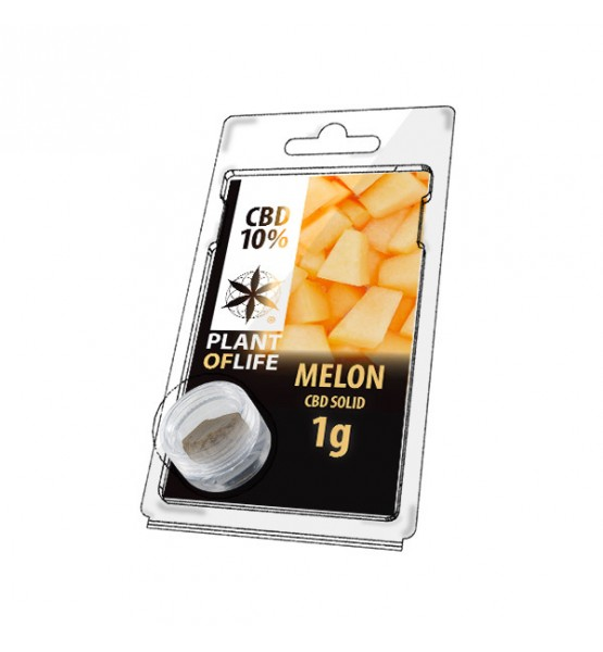 Résine CBD MELON 10% 1G