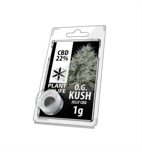Jelly CBD OG KUSH 22% 1G Plant of Life