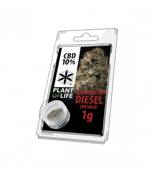 CBD Resin STRAWBERRY DIESEL 10% 1G Plant of Life