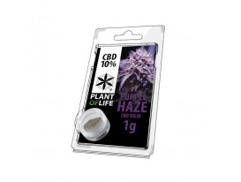 Résine CBD PURPLE HAZE 10% 1G Plant of Life