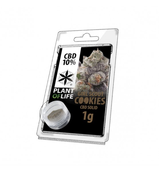 CBD Resin GIRL SCOUT COOKIES 10% 1G Plant of Life