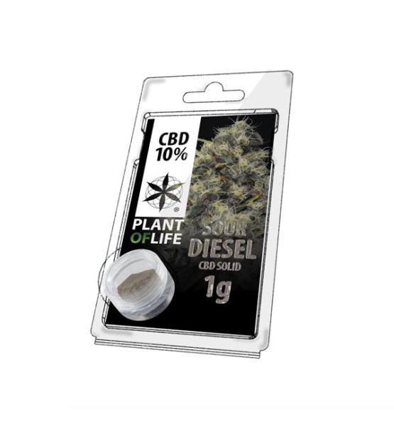 CBD Resin SOUR DIESEL 10% 1G Plant of Life