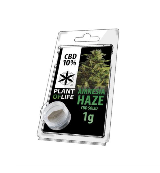 CBD resin AMNESIA HAZE 10% 1G Plant of Life