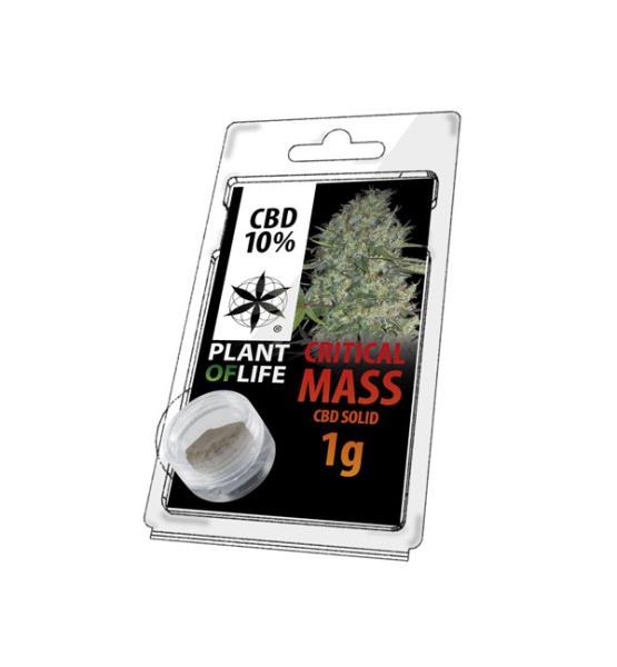CBD Resin CRITICAL MASS 10% 1G Plant of Life