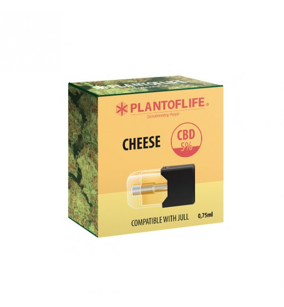 Cartridge Pod 5% CBD CHEESE - 0.75ml