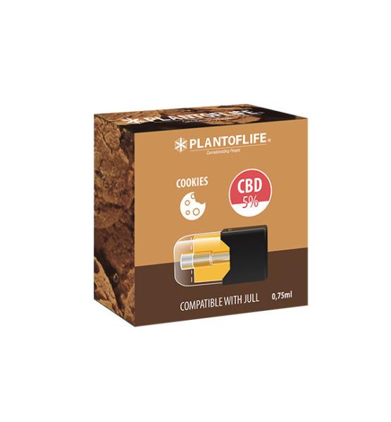 Cartouche Pod 5% CBD COOKIES - 0,75ml