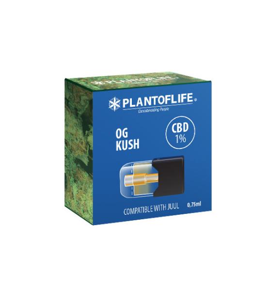 KUSH 1% CBD OG Cartridge - 0.75ml