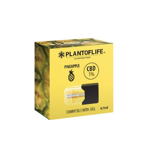 1% CBD PINEAPPLE Pod Cartridge - 0.75ml
