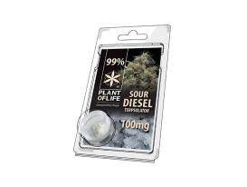 Terpsolator Sour Diesel 99% CBD - 100mg