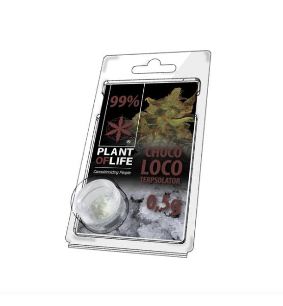 Terpsolator Chocolate 99% CBD - 500mg