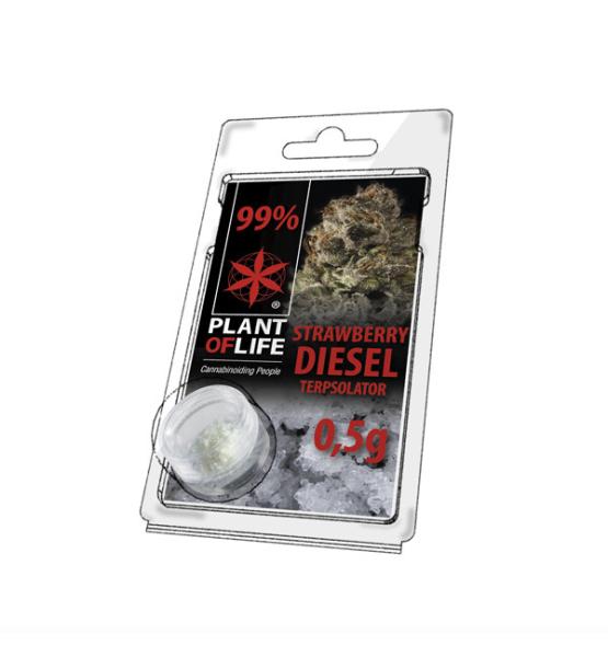 Terpsolator Strawberry Diesel 99% CBD - 500mg