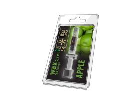 Wax CBD Apple 66% 0,5ML Plant of Life
