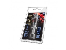 Wax CBD Berries 66% 0,5ML Plant of Life