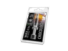 Wachs CBD Chocoloco 66% 0.5ML Pflanze des Lebens