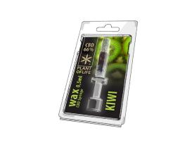 Wachs CBD Kiwi 66% 0.5ML Pflanze des Lebens