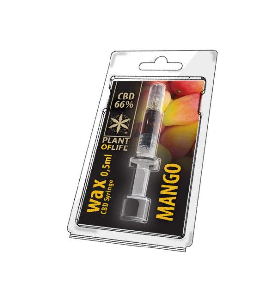Wax CBD Mango 66% 0.5ML Plant of Life