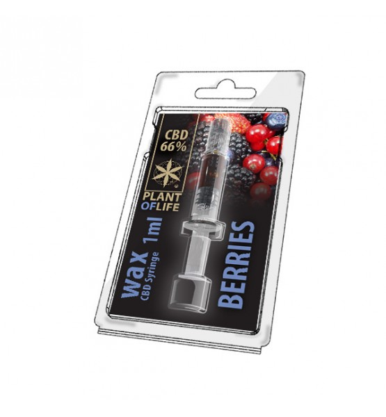 CBD Wax Forest Fruits 66% 1ML Plant of Life