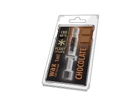 CBD Wachs Schokolade 66% 1ML Pflanze des Lebens
