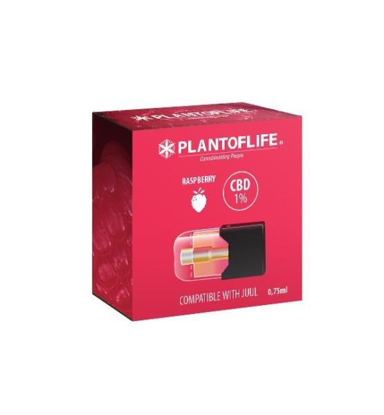 Cartridge 1% CBD Raspberry - 0.75ml