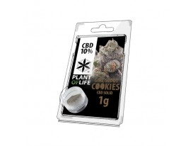 Żywica CBD GIRL SCOUT COOKIES 10% 1G Plant of Life