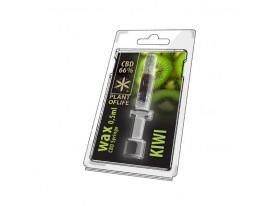 Wosk CBD Kiwi 66% 0.5ML Plant of Life