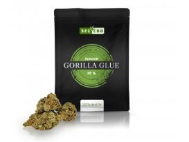 Kwiat CBD Gorilla Glue Indoor 11% (w języku francuskim)
